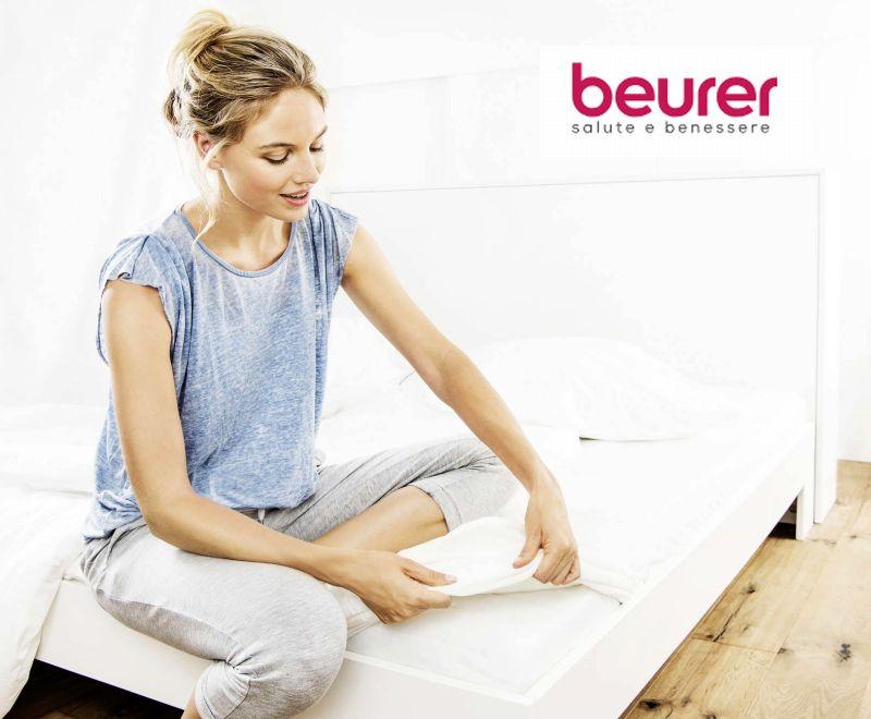 Guida definitiva ai migliori scaldaletto e coperte elettriche Beurer, sconti fino al 50%, per letti singoli o matrimoniali, termocoperte da divano o poltrona per guardare al caldo la TV