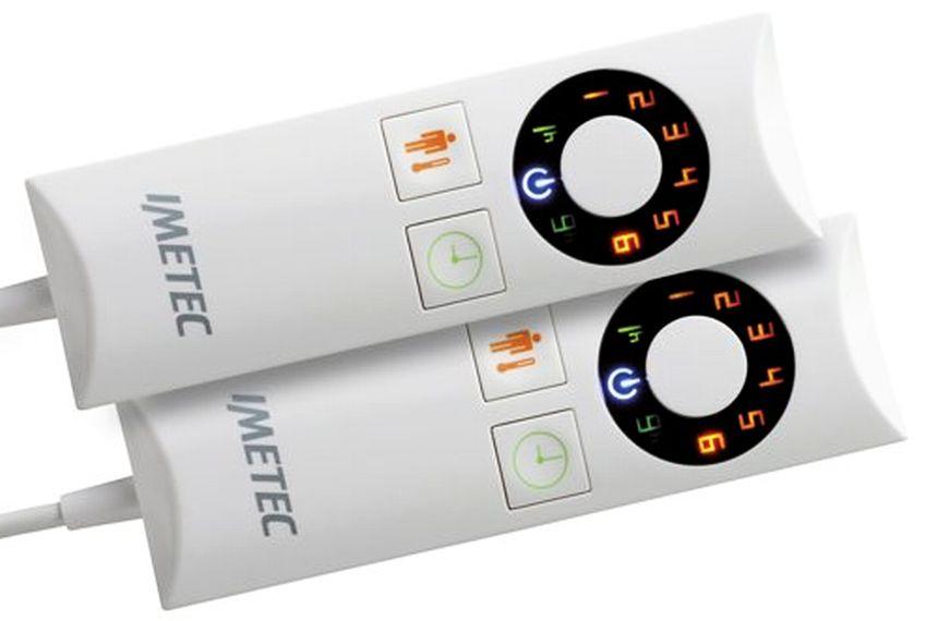 Con i telecomandi potete controllare in maniera indipendente le due zone della coperta elettrica, impostando fino a 6 livelli di temperatura