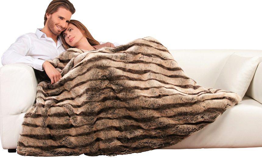 Finalmente potrete guardare la TV al calduccio, grazie alla vostra nuova coperta elettrica Imetec