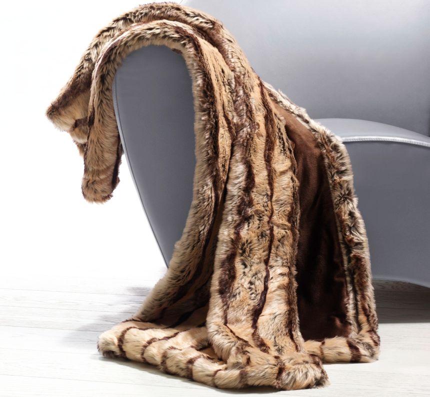 Il plaid riscaldabile di Imetec in morbidissima pelliccia ecologica