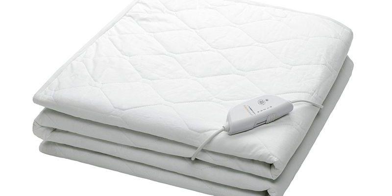 Scaldaletto elettrico ad angoli per letto singolo MEDISANA HU 650 con zona piedi extra calda