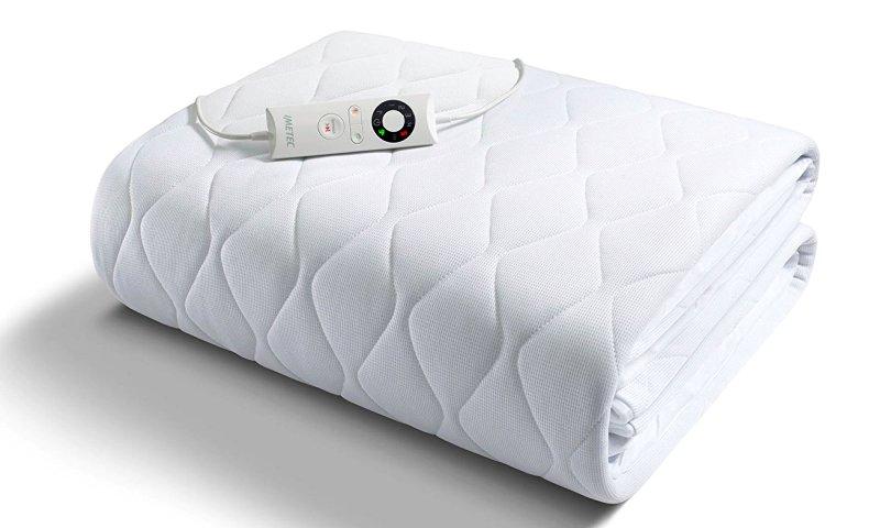 Scaldasonno IMETEC Sensitive, coprimaterasso per letto singolo in tessuto anallergico