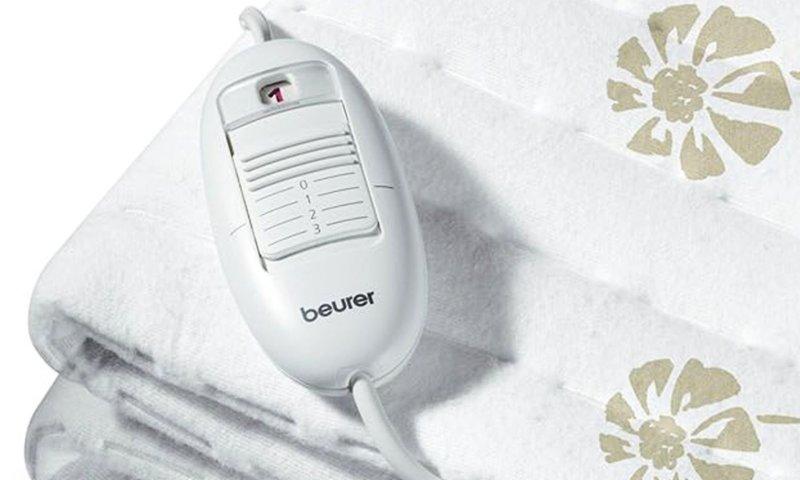 Con il telecomando impostate 3 livelli di calore (notare il display indicante la temperatura selezionata)