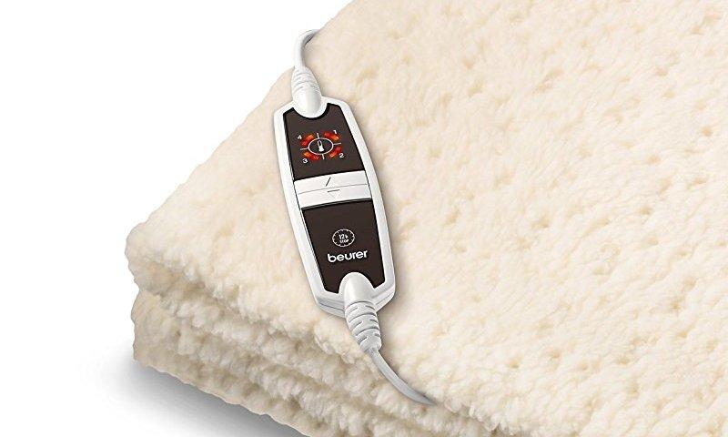 Con il telecomando impostate ben 4 livelli di calore (il display indica la temperatura selezionata)