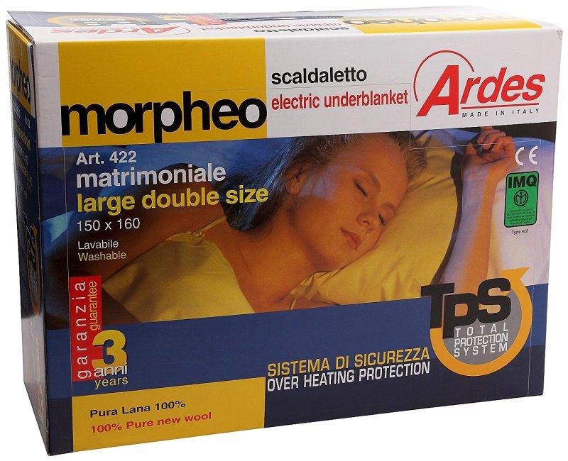 Gli scaldaletto elettrico Ardes non solo hanno un eccellente rapporto qualità prezzo, ma scaldano il vostro letto in maniera semplice e sicura