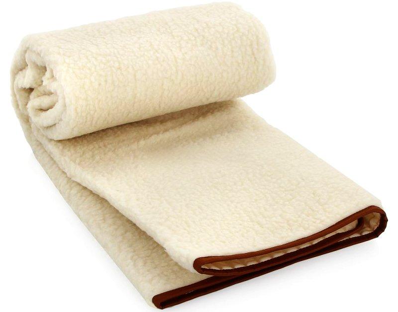 Lo scaldaletto per letto matrimoniale Ariete Ghiro Dolcesonno in pura lana vergine