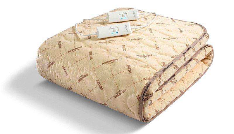 Scaldasonno IMETEC Express per letto matrimoniale in tessuto trapuntato