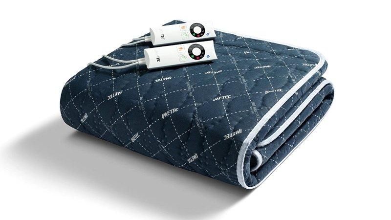 Scaldasonno IMETEC Sensitive Remote per letto matrimoniale in tessuto trapuntato