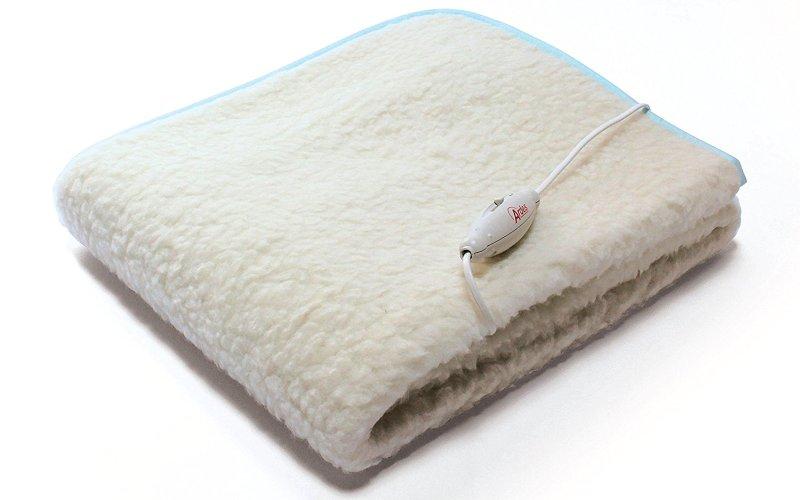 Scaldaletto elettrico singolo ARDES Medicura Morpheo in pura lana