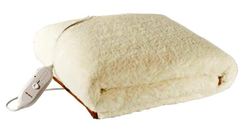 Scaldaletto termico singolo ARIETE Ghiro Dolcesonno in tessuto misto lana