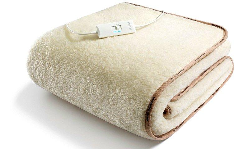 Lo Scaldasonno a una piazza e mezza Imetec Express in tessuto 100% lana e merino