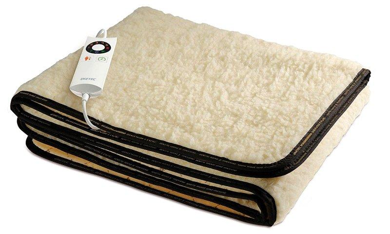 Scaldasonno singolo IMETEC Sensitive 100% lana e merino