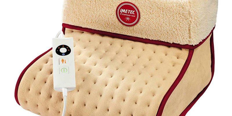 Scaldapiedi elettrico a riscaldamento rapido beurer fw 20 cosy in pile e peluche caldo letto - Piedi freddi a letto ...