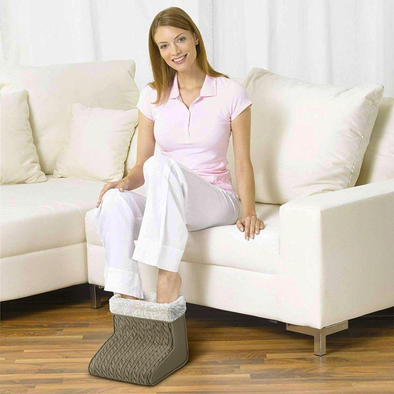 Mai più piedi freddi grazie al morbidissimo scaldapiedi elettrico BEURER FWM 45