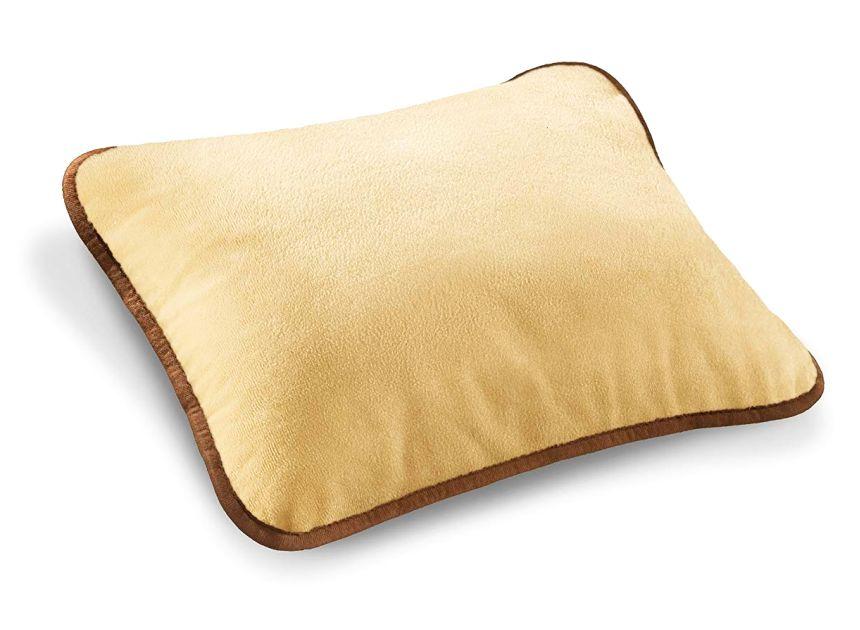 L'altro lato del cuscino termico da divano BEURER HK 48 COSY, che ricordiamo essere realizzato in morbido micropile traspirante